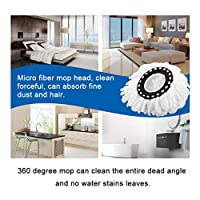 Household Soft Microfiber Home Cleaning Floor Mop Heads 360 Degree Rotation Cleaning Replacement Floor Mops Head