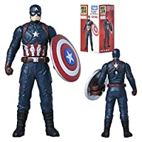 Metakore Marvel Civil War Captain America フィギュア玩具 [並行輸入品]
