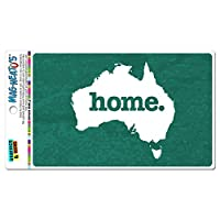 オーストラリア本国 MAG-NEATO'S(TM) ビニールマグネット - 質感ティール
