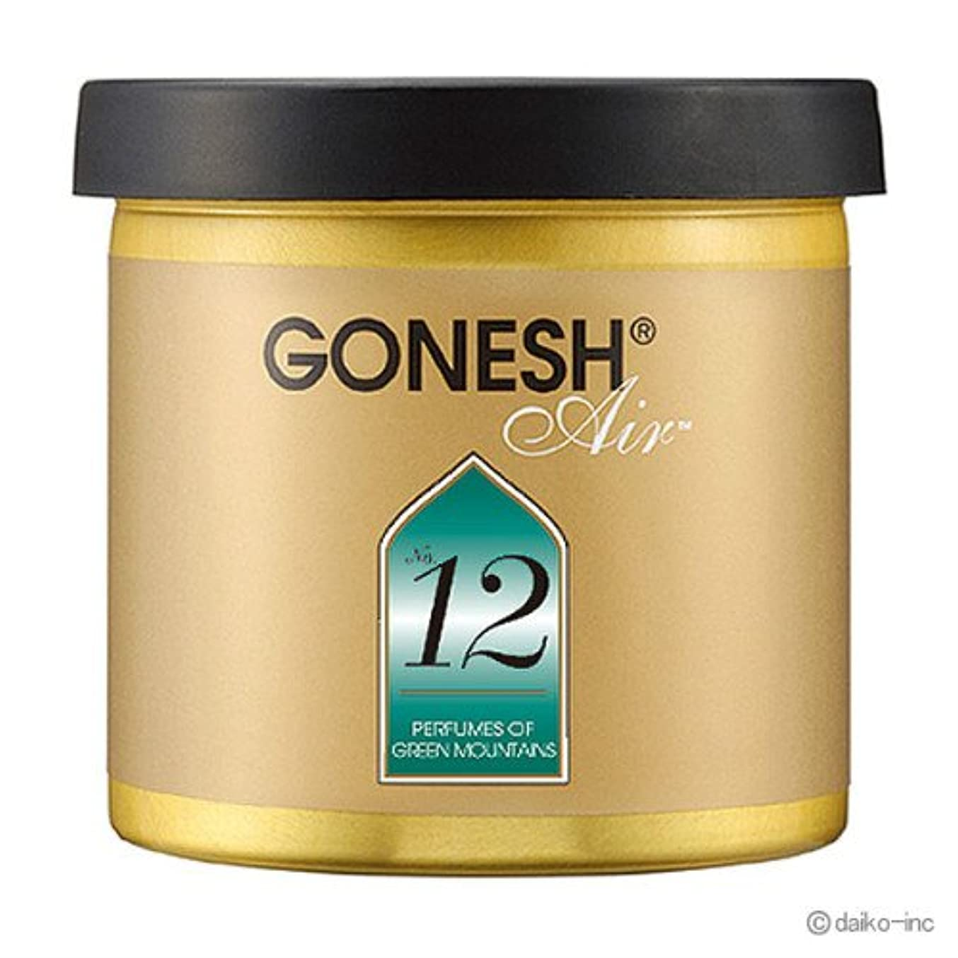 脳膿瘍あいまいガーネッシュ GONESH クラシック No.12 ゲルエアフレッシュナー