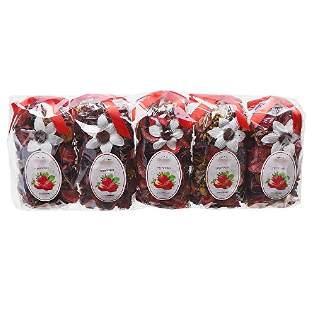 軽減株式幼児Qingbei Rina ポプリ 赤色 250g イチゴのポプリ ギフト 手作りの自然素材