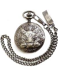 WACHIFIELD [わちふぃーるど] ダヤン D35th 懐中 時計 ほおづえ 生誕35周年記念商品