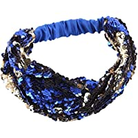 Large Capacity Outdoor Equipment Girls Sequin Hair Band (Color : B)