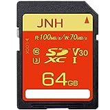 SDカード SDXCカード 64GB JNH UHS-I 超高速100MB/s Class10 U3 V30 4K Ultra HD 対応 エコパッケージ【国内正規品 5年保証】