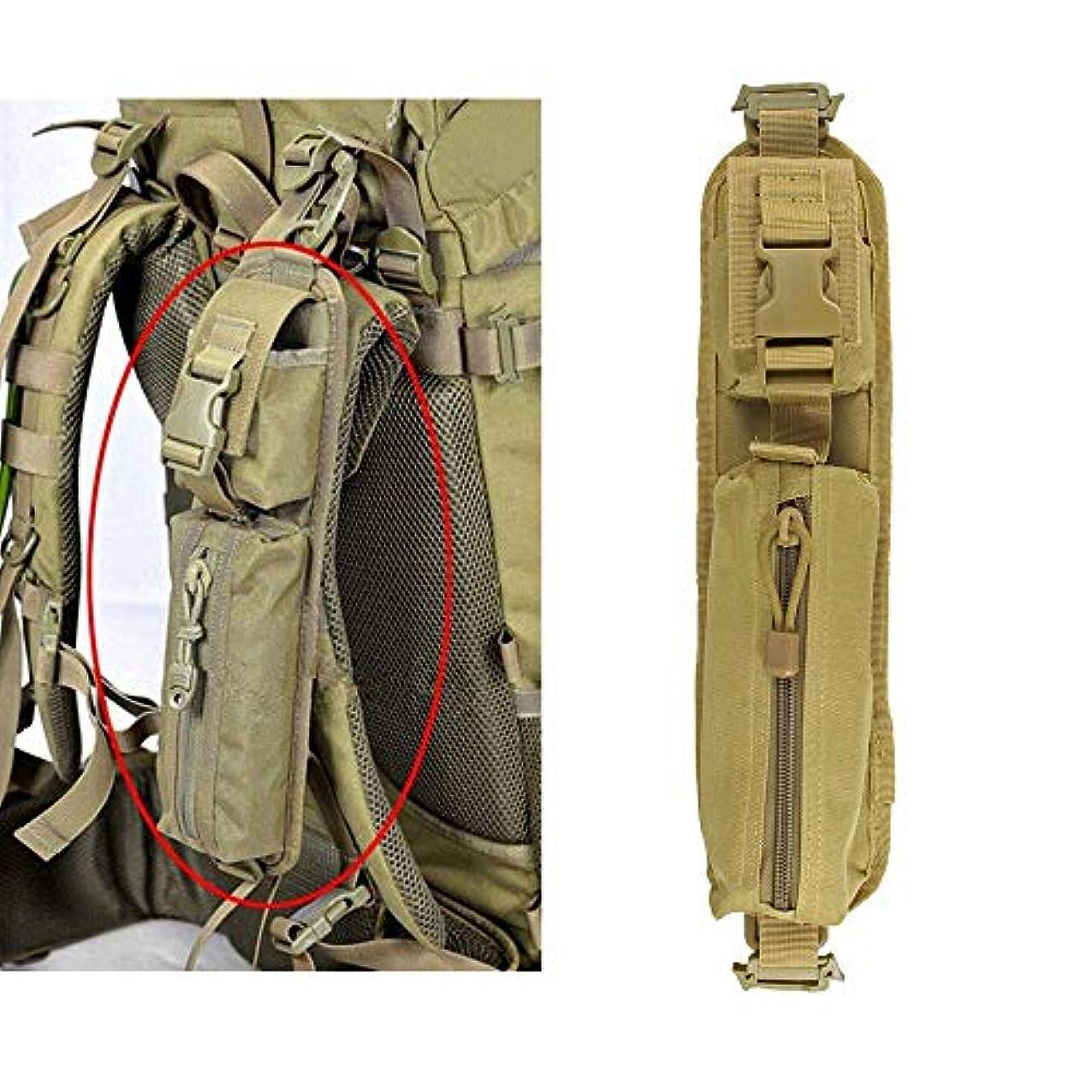 探検プロテスタント光沢AuACE タクティカル バックパック ショルダー ストラップ バッグ MOLLE アクセサリー ポーチ ハンティング ツール ポーチ