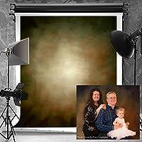 Kate 肖像写真背景幕 写真撮影 スタジオ小道具用。 6.5x10ft ブラウン ZZZ-USAMAZON-GC-1405-HJH-B