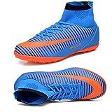 Socone メンズ サッカーシューズ サッカートレーニングシューズ 超軽量モデル ブルー 265