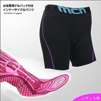 mcn 女性専用ゲルパッド付きインナーサイクルパンツ Lサイズ