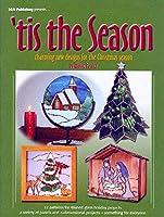 ステンドグラスパターンBook–Tis the Season–チャーミング新しいデザインfor the Holidays