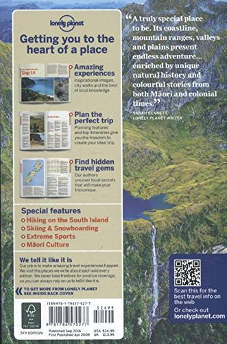 Lonely Planet New Zealand's South Island: Te Waipounamu (Lonely Planet New Zealands South Island)