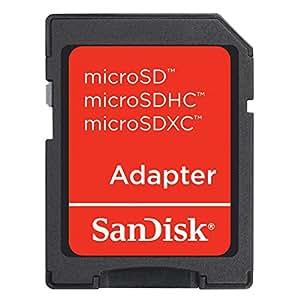 サンディスク Sandisk microSDからSDへの 変換アダプター SDHC規格対応 バルク品