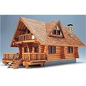 ウッディジョー 1/24 ログハウス 木製模型