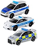 パトカー 3台セット トミカ 2015 トミカ博 イベントモデルNO.8 ランボルギーニ + NO.39 三菱 ランサー エボリューションX 英国警察仕様 + NO.109 フォルクスワーゲン ポロ
