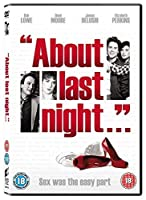 About Last Night... [DVD]