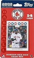 Topps MLB野球カード2008ボストンレッドソックス14カードチームセット