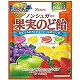 カンロ ノンシュガー果実のど飴 90g×6袋