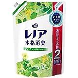 【大容量】 レノア 本格消臭 柔軟剤 フレッシュグリーン 詰め替え 特大 910mL