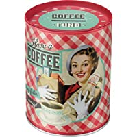 Nostalgic Art 31007 Say it 50's Style Motif and Have A Coffee., money by Nostalgic Art