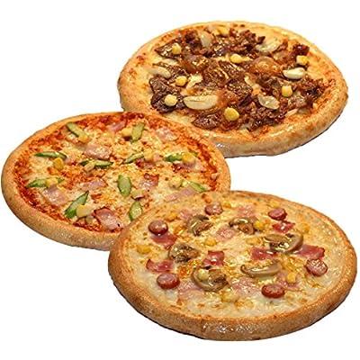 ピザ・カンピオーネ 冷凍 ピザ 3枚Bセット 【 ホワイトコンボ / 和風ビーフ / アスパラベーコン 】 手作り 国産小麦 使用 直径約 直径約22cm