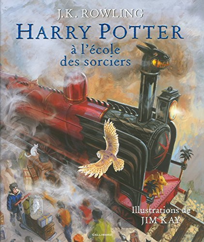 Harry Potter � l'�cole des sorciers - Beau-livre collector - illustre - [ Illustrated ] (French Edition) - Collector's French and European Publications Inc