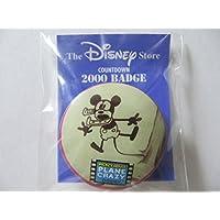 Disney Store ディズニーストア 1999年 レトロ ミッキーマウス 缶バッジ