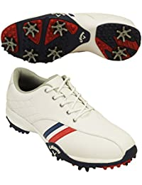 [キャロウェイ] レディース ゴルフスパイク アーバン Urban ホワイト×ネイビー 7983802 25.0cm