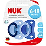NUK Boy SIL Soother Fashion, 6-18M