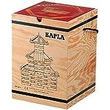 積木?カプラ カプラ280(白木)+デザインブック(中級?赤)>木箱入り 【並行輸入品】