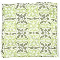 Bambino Land, Geometric - Green Muslin Swaddling Blanket by Bambino Land