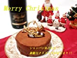 ネット限定【ドゥプリュスショコラ・クリスマスケーキ2012】ダブルチョコレートケーキ まるで生チョコの口どけ、まろやか&濃厚な味わい【お歳暮】指定がない場合は12/22着で手配させて頂きます。変更可