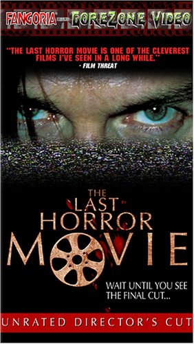Last Horror Movie [VHS] [Import] Kevin Howarth Mark Stevenson Antonia Beamish Christabel Muir Jonathan Coote Bedford Entertainment