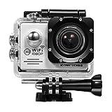 ICONNTECHS IT(JP) WIFI 30m防水 フルHD 1080Pスポーツ アクションカメラ 2インチ液晶画面 14MP 170度広角レンズ ウェアラブル HDMIビデオカメラ 豊富なアクセサリー付属 エクストリームスポーツ等に最適(銀)