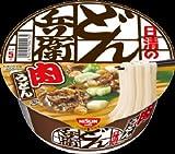 日清食品 日清のどん兵衛 肉うどん 1箱12食
