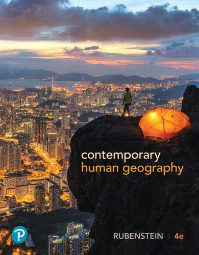 Download Contemporary Human Geography (4th Edition) 0134746228