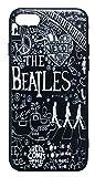 【The Beatles】ザ・ビートルズ「タイトルイラスト ブラック」iPhone7/iPhone8 シリコン TPUケース [並行輸入品]