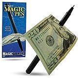 Magic Pen Trick - Magic Makers Original - Easy Pen Thru Dollar Bill Penetrating Trick by Magic Makers