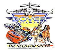 Dover Delaware The Need for Speed Artwood冷蔵庫マグネット