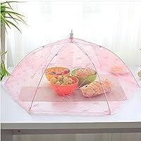 傘スタイルalimentaireアンチフライクーベルチュールrepasモスキートクーベルチュールalimentaireは六角テーブルの視線料理cuisson Outilsの1pcsのフィレ