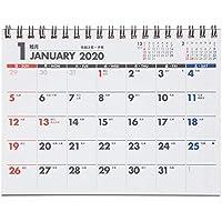 能率 NOLTY 2020年 カレンダー 卓上 30 B6 C228 ([カレンダー])