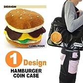 35%OFF!!アメリカン雑貨!!ハンバーガー型・コインケース・キーホルダー・ストラップ・HAMBURGER COIN CASE K/C-HAMBURGER