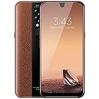 X23携帯電話の水滴ディスプレイ指紋顔認識スマートフォン(ブラウン)