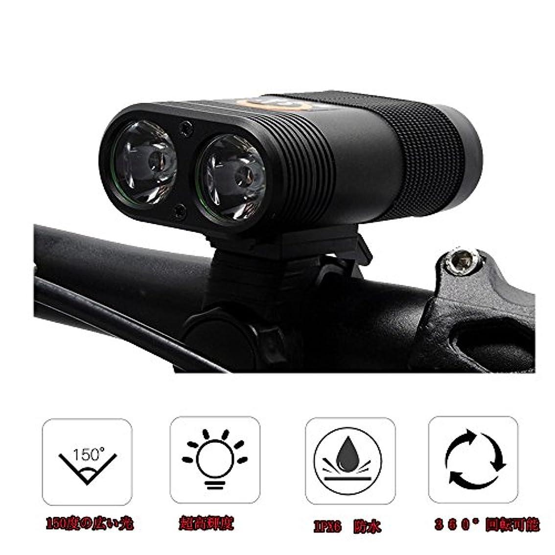 概要割り当てますアーサーコナンドイル自転車ライト, Savman 高輝度 LED自転車ヘッドライト 防水 USB充電式 取り付けが簡単 着脱が容易 360°回転可能 Led懐中電灯 800ルーメン