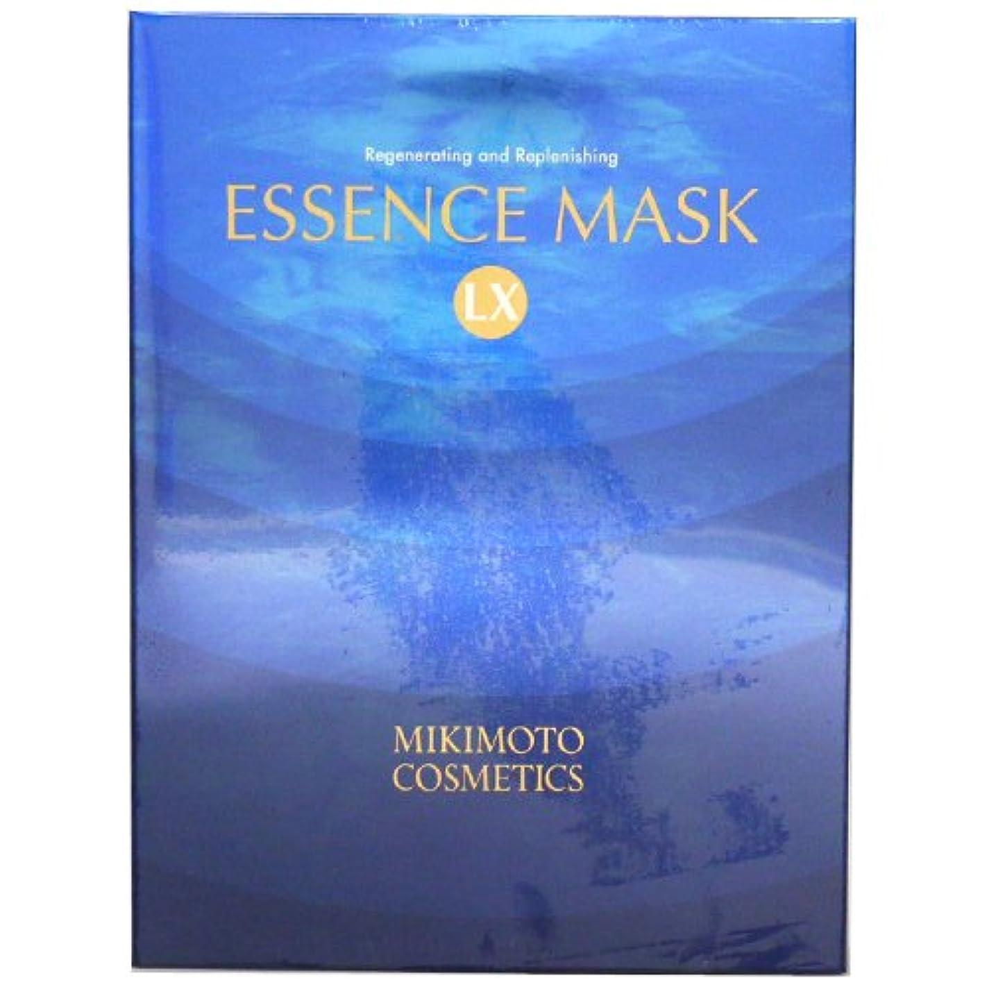 ショートカット普通の着飾るミキモト化粧品 MIKIMOTO コスメティックス エッセンスマスクLX (シート状美容マスク) 【6枚入】