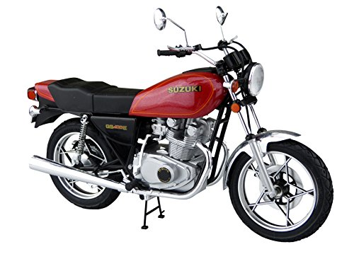 青島文化教材社 1/12 バイクシリーズ No.28 スズキ GS400E プラモデルの詳細を見る