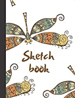 Sketchbook: Composite Notebook for Your Ideas, Drawing, Writing, Painting and Sketching , 110 Pages, (Large 8.5x11) (Nature Edition)