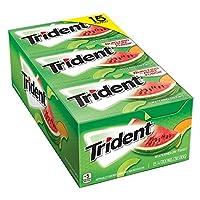 Trident シュガーフリーガム 特用サイズ 14パック入 (ウォーターメロンツイスト) [並行輸入品]