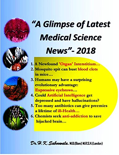 """A Glimpse of Latest Medical Science News""-2018 (English Edition)"