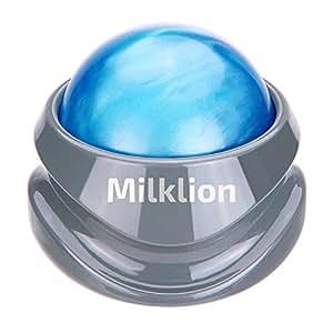 マッサージ ボール ローラー 筋膜リリース マッサージャー トリガーポイント刺激 足 ほぐし 健康器具 血行促進 頭痛 浮腫み解消 疲労回復【Milklion】