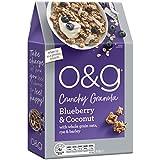 O&G Blueberry & Coconut Crunchy Granola, 450g