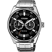 Citizen Men's Solar Powered Wrist watch, stainless steel Bracelet chronograph Display and Stainless Steel Strap, BU4027-88E